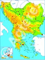 Balkanlanden blind XXL