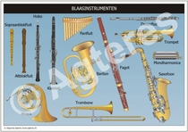Blaasinstrumenten XL