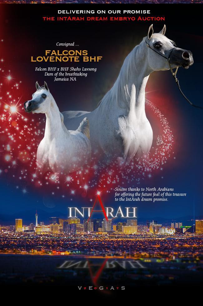 IntArah Dream ... Falcons Lovenote BHF