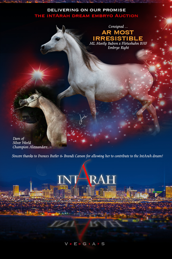 IntArah Dream ... AR Most Irresistible