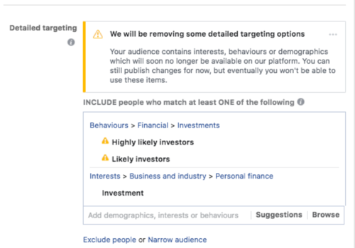 Facebook Highly Likely Investor Target