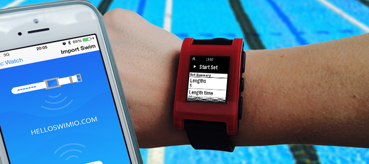 SwimIO_Pacerapp_for_Pebble_Smart_watch