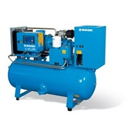 Base Unit Screw Compressor 11kw | Belt driven screw compessor