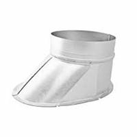 Curved Boot | Galvanised steel