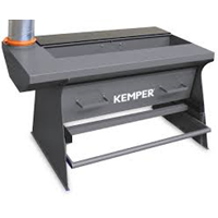 Hand Cutting Table dimensions: w=1,000 mm d=650mm h=800mm,aspiration port Ø160m