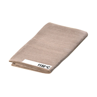 Welding blankets 1,150 °C, H 450 x W 450 mm, 1.8 mm thickness