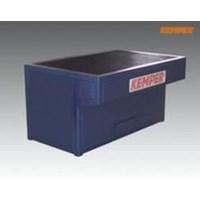 Welding Table, dimensions: w 1,000mm d 800mm h 850mm, connection spigot: dia 160