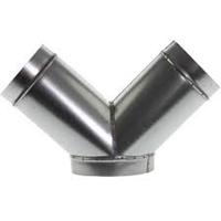 Y piece 45 | Galvanised steel