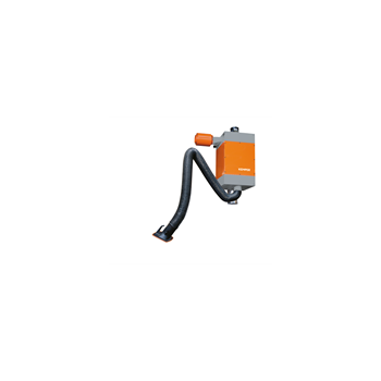 Cartridge filter with 1 flexible exhaust arm, 4,0 m, Ø 150 mm