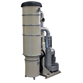 High vacuum suction unit
