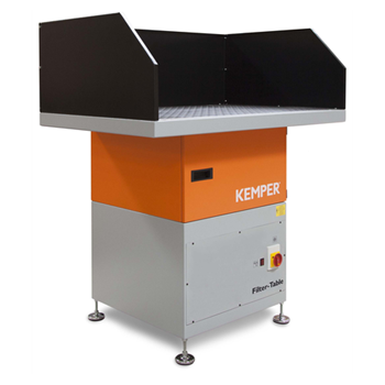 KEMPER Filter-Table · 1.400 m³/h · 1,5 kW · 3 x 400 V