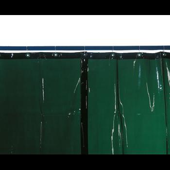 Welding curtain, light green, H 1,600 x W 1,300 mm, 1.30 kg
