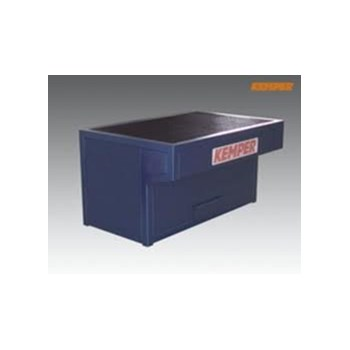 Welding Table, dimensions: w 1,000mm d 800mm h 850mm, connection spigot: dia 160