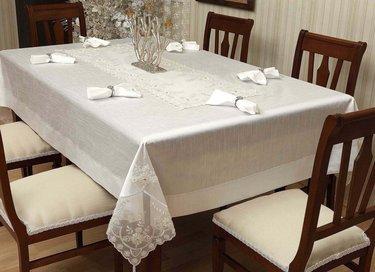 Evlen Bahardali Yemek Takımı 26 Parça - Krem