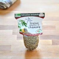 Graines complètes de chanvre Bio
