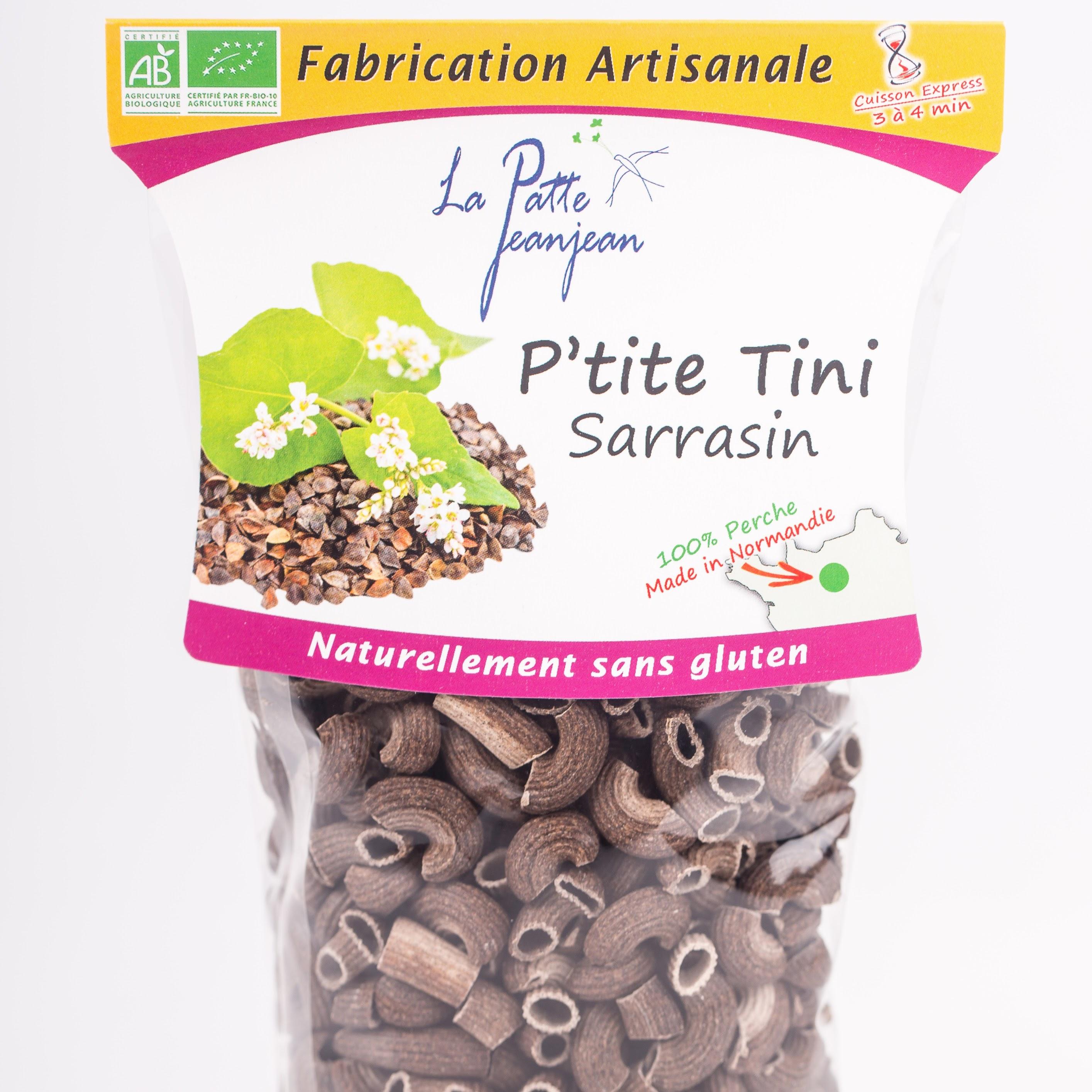 Pâtes de sarrasin P'tite Tini Bio