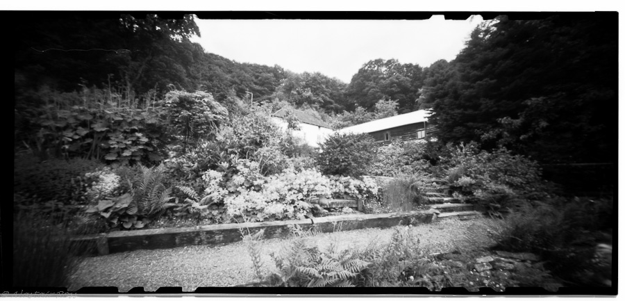 Pentrusco House, Knucklas, Powys - Pinhole, Ilford FP4, f/158 @ 4seconds(ish)