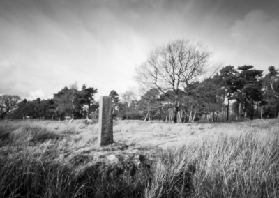 Ties to the Land XIV : Longshaw Milestone, Derbyshire Peak District