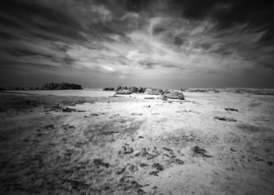 SArbor Low, Peak District, Infra Red Pinhole