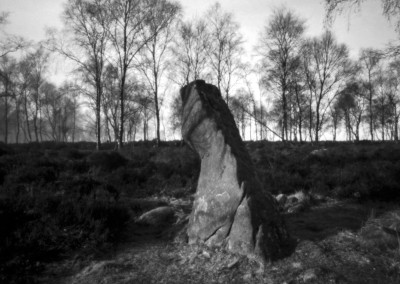 Gardoms Standing Stone, Peak District