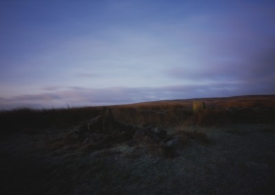 Barbrook II Stone Circle Dawn