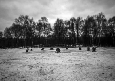Nine Grey Ladies, Stanton Moor, Peak District