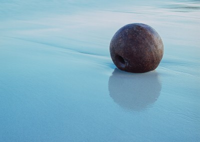Iron Ball on Huisnis Beach III