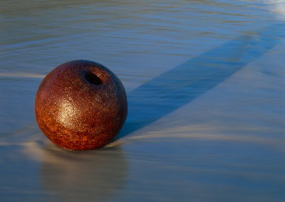 Iron Ball on Huisnis Beach I