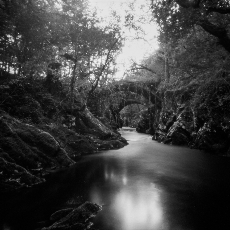 Ties to the Land XXVI : Roman Bridge over Afon Machno, Betws-y-Coed, North Wales
