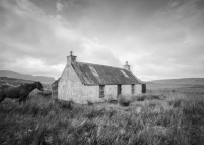 Ties to the Land XXIV : Abandoned Croft, Staffin, Isle of Skye