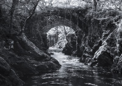 Roman Bridge, near Betws-y-Coed, North Wales