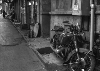 Motorbike, Istanbul, Turkey