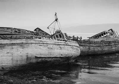 Abandoned Boats, Salen, Isle of Mull