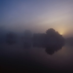 Misty Lake at Clumber Park