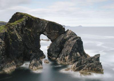 Stac a' Phris Sea Arch, Dail Beag,  Lewis, Scotland