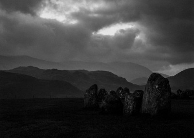 Stormy Castlerigg Stone Circle at Dawn, Lake District