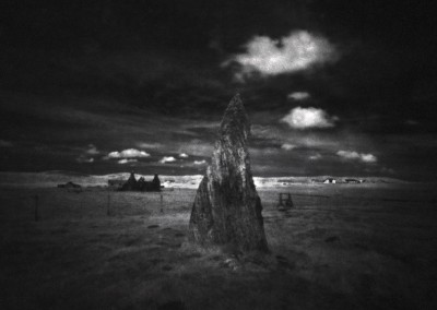 Infra Red Pinhole, Callanish II Stone Circle, Isle of Lewis, Outer