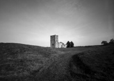 Knowlton Henge and Church, Dorset