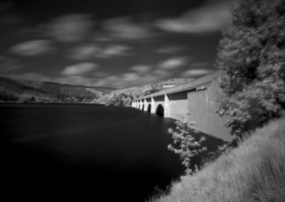 Ashopton Viaduct, Ladybower Reservoir, Derbyshire Peak District