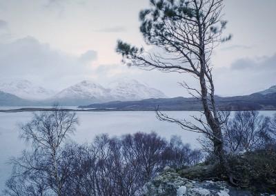 Winter, Ob Mheallaidh and Liathach, Torridon