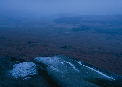 Stanage Edge above Dennis Knoll