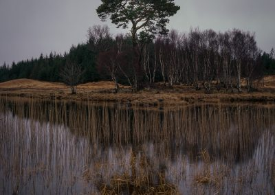 Loch Tulla, Highlands of Scotland
