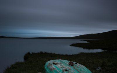 Loch Ra and Boat at Dusk