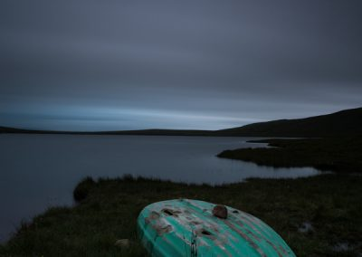 Loch Ra and Boat at  Dusk