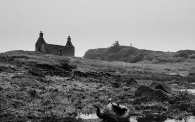 Abandoned House and Kettle, Lochskipport, South Uist, Outer Hebrides