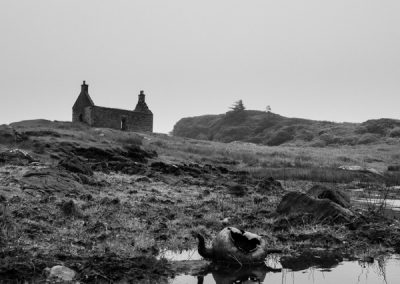 Abandoned House and Kettle, Lochskipport, South Uist, Outer Hebr