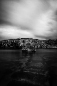 Bridge, Uig Bay, Isle of Lewis, outer hebrides landscape photography, black and white
