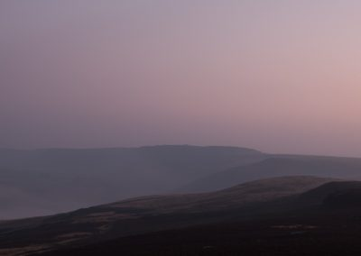 Across to Stanage from Over Owler Tor