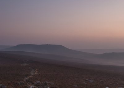 Higger Tor from Over Owler Tor, Peak District