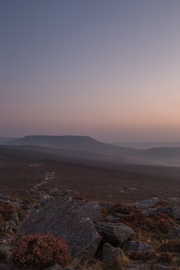 Higger Tor from Over Owler Tor, Peak District, peak district landscape photography